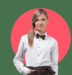 Одежда<br>для продавцов