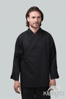 Кимоно поварское мужское с длиным рукавом и рукавом