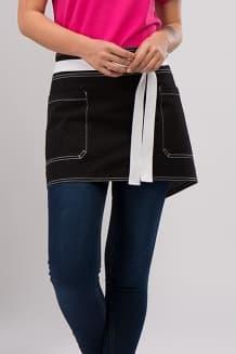 Фартук джинсовый короткий, 2 нкаладных кармана