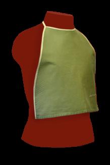 Фартук-нагрудник для клиента на завязках