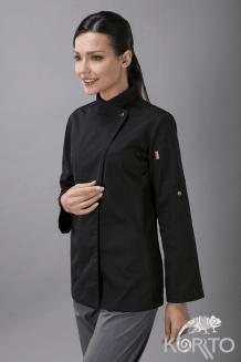 Китель поварской женский, боковые вставки-сетка