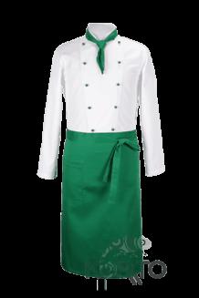 Фартук зеленый повара