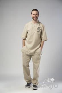 Комплект (туника + брюки)