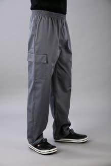 Брюки профессиональные,  пояс на резинке и шнурке, карманы с клапаном