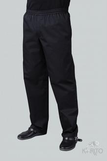 Брюки профессиональные, пояс на резинке и шнурке, карманы в боковых швах