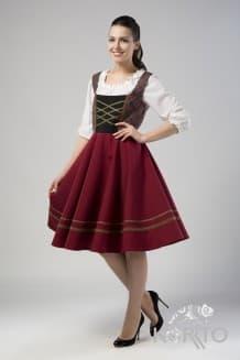 Австрийское платье